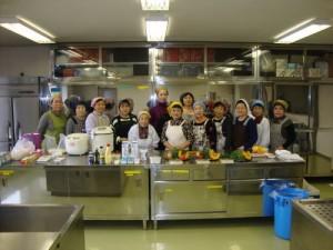 女性部料理講習会
